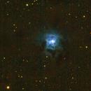 NGC 7023 (Iris-Nebel),                                Nordlicht08