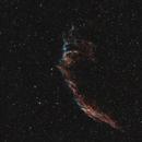 NGC6995-NGC6992 - La grande dentelles du cygne (sorry for little blue points),                                ZlochTeamAstro