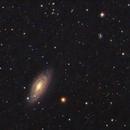 NGC 2841 flocculent spiral and PGC 26572 SdBR galaxies,                                rveregin