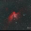 NGC 7380 Wizard Nebula HOO,                                Michael Caller