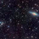 Deer Lick Group NGC7331 and Stephan 's Quintet in Pegasus,                                Arnaud Peel