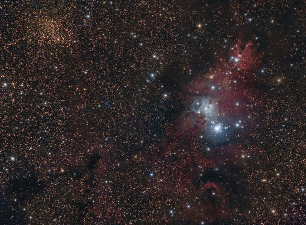 NGC 2264 Cone nebula,                                Ivan Bosnar