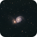 M51 Whirlpool Galaxy,                                Trevor Gunderson