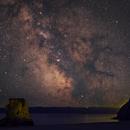 Milky Way - Carlyon Bay - Cornwall - July 2021,                                EdHoltAstro