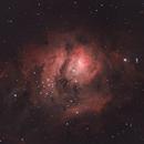Lagoon Nebula,                                Joshua Millard