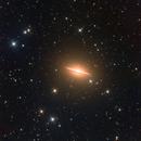 M104 Sombrero Galaxy in LRGB,                                Ben Koltenbah