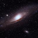 Andromeda Galaxy,                                AstroFrames