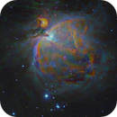 M42 Orion Nebula in S2HaO3Hb,                                equinoxx