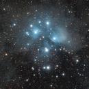 M45 - The Seven Sisters,                                Johnson Lo