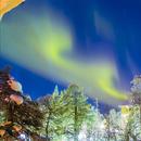 Video Aurora Borealis vista desde el Hotel en Saariselkä,                                Lluis Romero Ventura