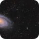 Messier 81 and 82 panorama,                                Barry Wilson
