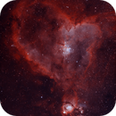 IC 1805 •Heart Nebula in HOO,                                Douglas J Struble
