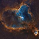 IC 1805 Heart Nebula SHO,                                Graham Roberts