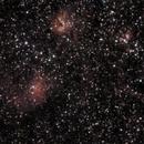IC405 - Flame Nebula - 20200129 - Neewer 85mm F2.5 - UHC,                                altazastro