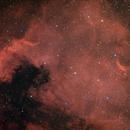 NGC 7000 - North  America Nebula Ha R G(syntetic) B from an urban sky,                                agostinognasso