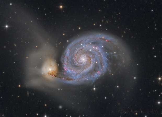 Messier 51,                                Nippo81