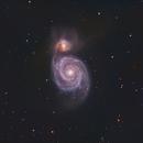 M51 - The Whirlpool Galaxy,                                wadeh237