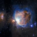 M42 Great Orion Nebula,                                brimborium
