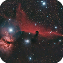 Flame & Horsehead Nebulae,                                astronut1982