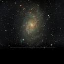 M33 Triangulum Galaxy,                                Peter Juhlin