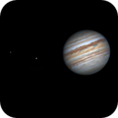 Jupiter and Three Moons,                                Aaron Collier