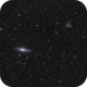 NGC7331 and Quintet in mix broad and narrow band,                                JNieto