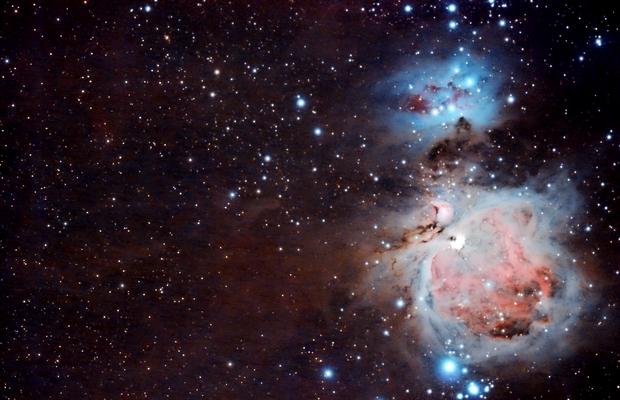 M42 Wide-field,                                ashdered