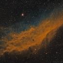 NGC 1499 - Sii, Ha, Oiii,                                Brad