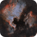 Widefield NGC7000 HOO,                                SemiPro
