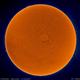 SOLAR NIRVANA (false color) - 27.08.2017,                                Łukasz Sujka