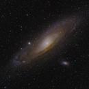 First shot of Andromeda,                                Skarpedjup