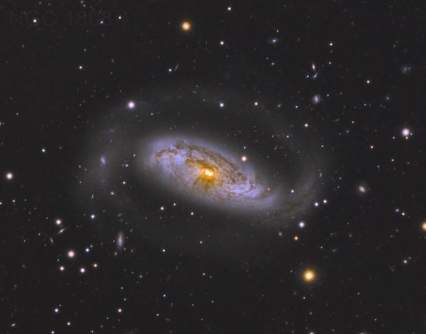 The seyfert galaxy NGC 1808,                                YIJIA ZHANG