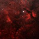 "IC1318 ""Red again"" / Canon 100D + Canon 200mm f/2.8 / Stardventurer / 2017-08-17,                                patrick cartou"