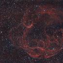 Spaghetti Nebula HOO (Simeis 147 / Sh2-240),                                Larry