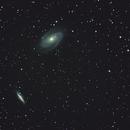 M81 Bode galaxy & M82 Cigar galaxy rework,                                Dmitri Gostev