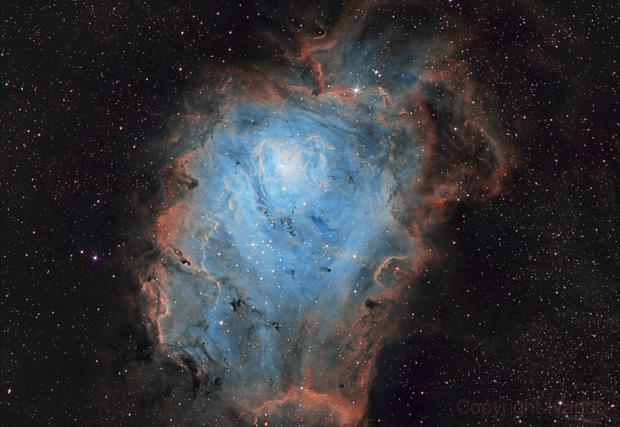 M8 Lagoon Nebula,                                Ivan Nair