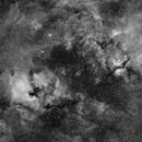 North America Nebula and Sadr Region in H-alpha,                                Andrew_B