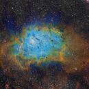 Lagoon Nebula Narrowband,                                Vincent Giranda