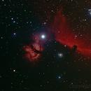 Testa di Cavallo e Nebulosa Fiamma,                                Peppe.ct