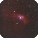 The Bubble Nebula in HS,O,O - september 2020,                                Jérémie