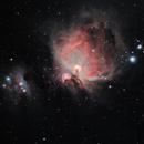 Orion Nebula and Running Man,                                John Livermore