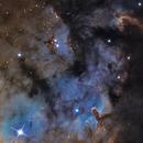 NGC7822,                                Davy HUBERT