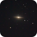 M104 - The Sombrero Galaxy,                                Michael Sanford