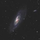 M106 - Active galaxy in CVn (HaRGB),                                Benny Colyn