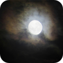 Moon and Aldebaran,                                SkyandSpace