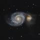 M51 : La Galaxie du Tourbillon,                                Stéphane Symphorien