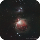Last, quick look on The Orion Nebula, M42,                                raf2020