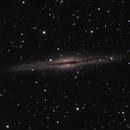 NGC891 using LPR filter,                                lowenthalm
