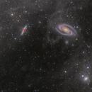 M81-M82 Galaxies & Integrated Flux Nebula (IFN),                                Emmanuel