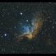 NGC 7380 LSHO - Canon1100Da,                                Kenneth Sneis